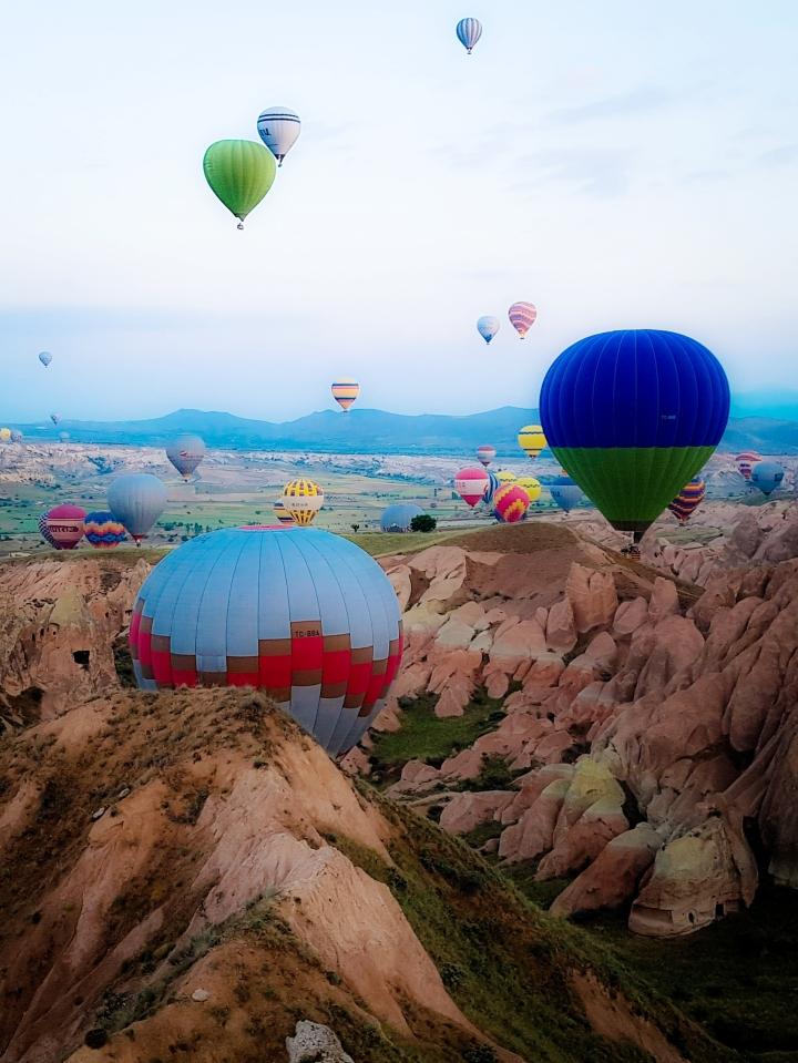 Zbor cu balonul inCappadocia